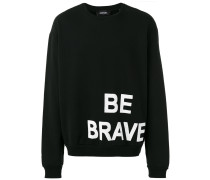 - 'Be Brave' Sweatshirt - men - Baumwolle - L