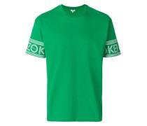 printed sleeve T-shirt