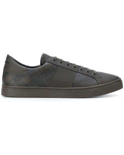 4304fba4a3d1 Burberry Herren Sneakers aus Kalbsleder Günstig Kaufen Shop Großer Verkauf  Zum Verkauf Freies Verschiffen Bestes Geschäft