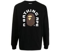 A BATHING APE® Sweatshirt mit Logo-Print