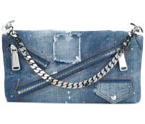 'Babe Wire' Jeans-Clutch - women - Baumwolle