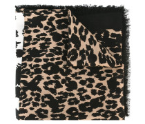 Schal mit Leoparden-Print - women