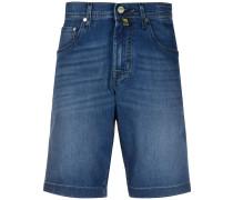 Gerade Jeans-Shorts