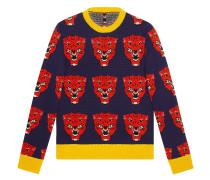 Pullover mit Tigermuster