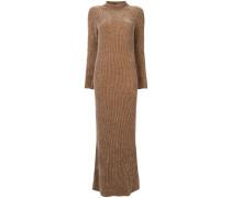 Jersey-Kleid aus Samt