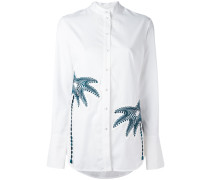 Hemd mit Palmenapplikationen - women