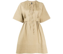 Kleid mit Mikro-Falten