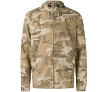 - Kapuzenjacke mit Camouflage-Print - men