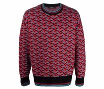La Greca geometric pattern jumper