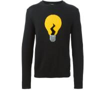 Pullover mit Glühbirnenmotiv