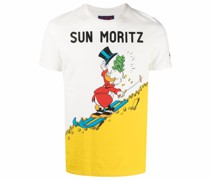 graphic-print short-sleeved T-shirt