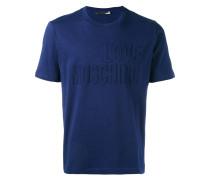 T-Shirt mit Logo-Prägung - men - Baumwolle - L
