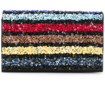 - Clutch mit Pailletten - women - PVC