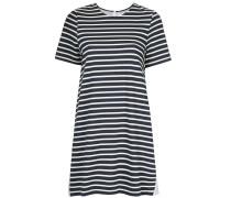 latch back striped dress