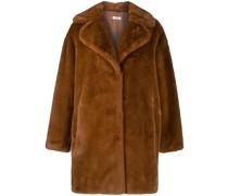 P.A.R.O.S.H. Oversized-Mantel aus Faux Fur