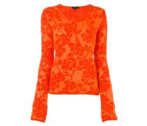 floral jacquard jumper