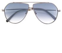 angular aviator sunglasses