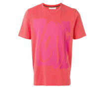 """T-Shirt mit """"Love""""-Print - men - Baumwolle - L"""
