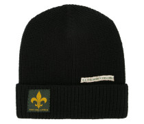 patch detail beanie