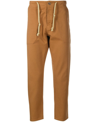 Nova Sierra drawstring-waist trousers