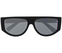Pilotenbrille mit breitem Gestell