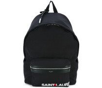 logo 'City' backpack - men - Baumwolle