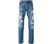 Jeans in Distressed-Optik - men - Baumwolle - 30