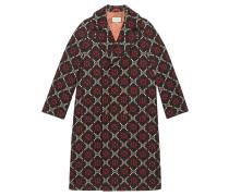 Mantel mit GG Diamond-Muster