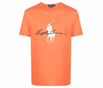 T-Shirt mit Polo Pony-Print