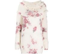 Instarsien-Pullover mit Blumenmuster