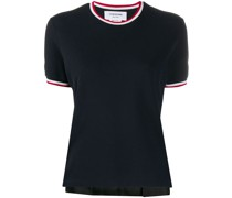 T-Shirt mit Logo-Borten