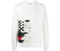 'CH1' Sweatshirt mit grafischem Print