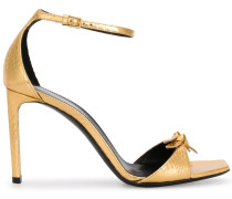 'Bea' Sandalen mit Schleife