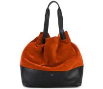 Zweifarbige Hobo-Tasche