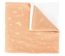 Intarsien-Schal mit Zigarettenmotiv