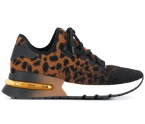 'Krush' Sneakers mit Leopardenmuster