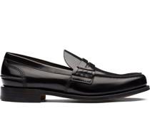 Glänzende 'Tunbridge' Loafer
