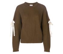 lace-up detail jumper