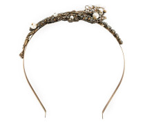 stone embellished twisted tiara