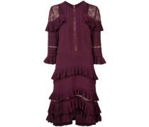 - Kleid mit Spitzeneinsätzen - women