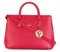 Handtasche mit Logo-Anhänger