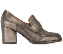 Loafer mit Metallic-Effekt