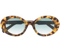 Ovale Sonnenbrille mit Farbverlauf