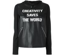 'Creativity Saves The World' Kapuzenpullover