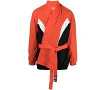 Shell-Jacke in Colour-Block-Optik