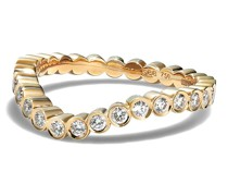 18kt Grace Gelbgoldring mit Diamanten