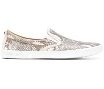 Sneakers in SchlangenlederOptik