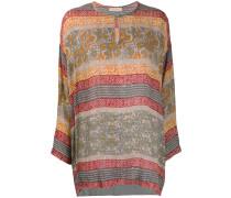 'Kanji' Bluse mit Tribal-Print