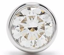 14kt white gold Marylin diamond stud earring
