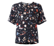 T-Shirt mit Print - women - Polyester - 38
